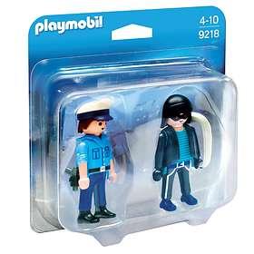 Playmobil City Action 9218 Polis Och Inbrottstjuv