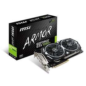 MSI GeForce GTX 1080 Ti Armor OC 2xHDMI 2xDP 11Go