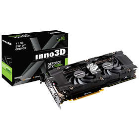 Inno3D GeForce GTX 1080 Ti Twin X2 HDMI 3xDP 11GB