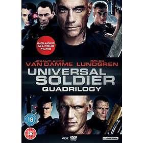 Universal Soldier - Quadrilogy (UK)