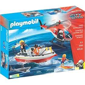 Playmobil City Action 5668 Les gardes-côtes