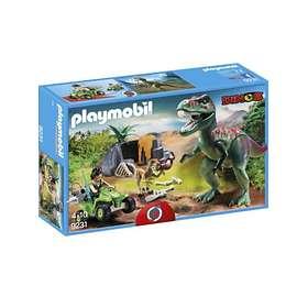 Playmobil Dinos 9231 Upptäckarfyrhjuling med T-Rex