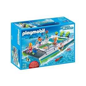 Playmobil Sports & Action 9233  Båt med Glassbunn og Undervannsmotor
