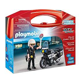 Playmobil City Action 5648 Police Carry Case