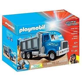 Playmobil City Action 5665 Dump Truck