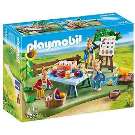 Playmobil Easter 6863 Bunny Workshop
