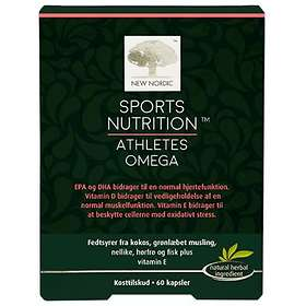 New Nordic Sports Nutrition Athletes Omega 60 Kapslar