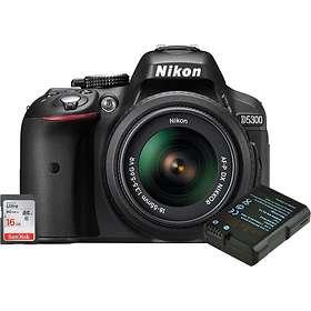 Nikon D5300 + AF-P 18-105/3,5-5,6 VR