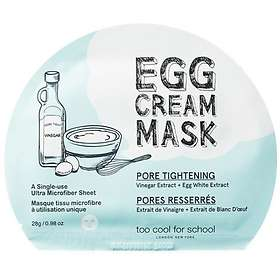 Too Cool For School Pore Tightening Egg Cream Mask Sheet 1st