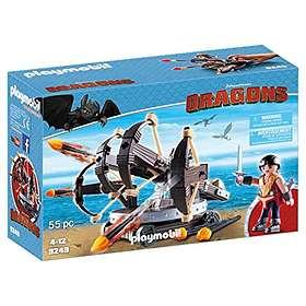 Playmobil Dragons 9249 Eret ja Ballista Neljällä Ammuksella