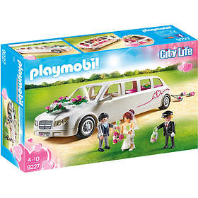 Playmobil City Life 9227 Limousine avec couple de mariés