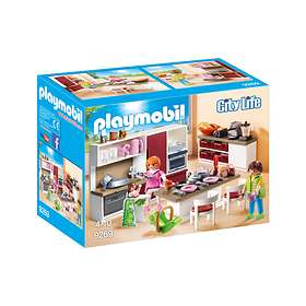 Playmobil City Life 9269 Stort Kök för Hela Familjen