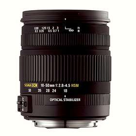 Sigma 18-50/2,8-4,5 DC OS HSM for Canon