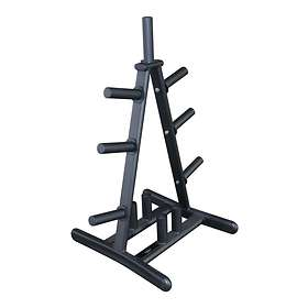 Primal Strength Stealth Commercial Fitness Olympic Disc/Barbell Rack