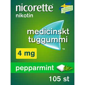 McNeil Nicorette Tuggummi Fruitmint 4mg 105st