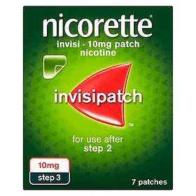 McNeil Nicorette Invisipatch Transdermal Patch 10mg/16h 7pcs
