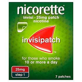 McNeil Nicorette Invisipatch Transdermal Patch 25mg/16h 7pcs