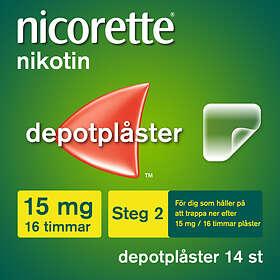 McNeil Nicorette Novum Depotplåster 15mg/16h 14st