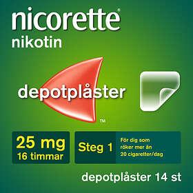 McNeil Nicorette Novum Depotplåster 25mg/16h 14st