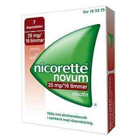 McNeil Nicorette Novum Depotplåster 25mg/16h 7st
