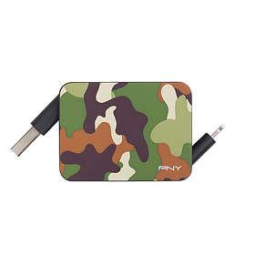 PNY Roll-it USB A - Lightning (retractable) 0,6m
