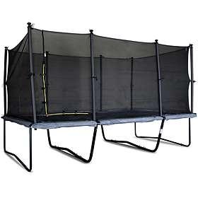 TrekkRunner Rektangulär Pro Trampoline With Enclosure 305x458cm