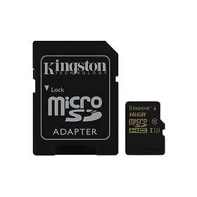 Kingston SDCG microSDHC Class 10 UHS-I U3 90/45MB/s 16GB
