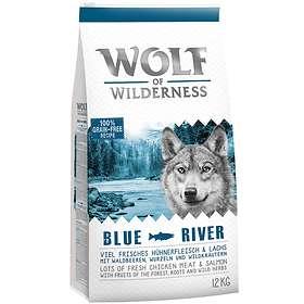 Wolf of Wilderness Blue River Adult Salmon & Chicken 1kg