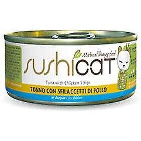 Trainer Cat Sushicat Tuna & Chicken 24x0.07kg