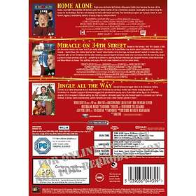 Home Alone + Miracle on 34th Street + Jingle All the Way (UK)