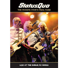 Status Quo: The Frantic Four's Final Fling - Live Dublin O2 Arena (DVD+CD)