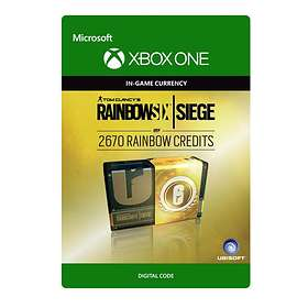Tom Clancy's Rainbow Six: Siege - 2670 Credits (Xbox One)
