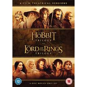 The Hobbit Trilogy + The Lord of the Rings Trilogy (UK)