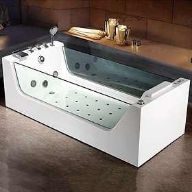Bathlife Bubbelbadkar Flit 170x80 (Hvit)