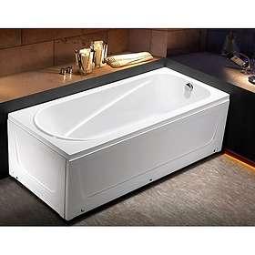 Bathlife Badekar Slumra Venstre 170x75 (Hvit)