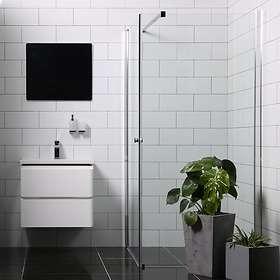 Bathlife Dusjhjørne Mångsidig Rett Vegg + Dør 100x80