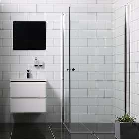 Bathlife Duschhörna Mångsidig Rak Dörr + 70x70