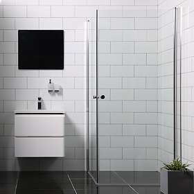 Bathlife Duschhörna Mångsidig Rak Dörr + 80x100