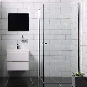 Bathlife Duschhörna Mångsidig Rak Dörr + 100x100