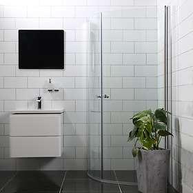 Bathlife Duschhörna Mångsidig Rund Dörr 45° 90x90