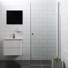Bathlife Dusjdør Mångsidig Rett 90