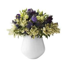 Royal Copenhagen White Fluted Vase 205mm