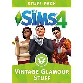 The Sims 4 Expansion: Vintage Glamour Stuff