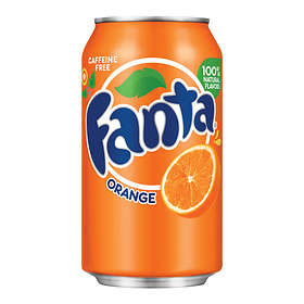 Fanta Orange Burk 0,33l 24-pack