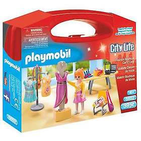 Playmobil City Life 5652 Fashion Boutique Carry Case