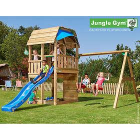 Jungle Gym Barn + Dubbel Swing