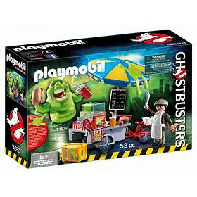 Playmobil Ghostbusters 9222 Slimer with Hot Dog Stand