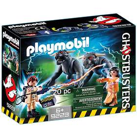 Playmobil Ghostbusters 9223 Venkman and Terror Dogs