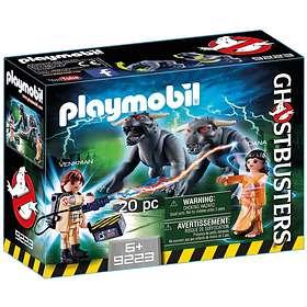 Playmobil Ghostbusters 9223 Venkman et les Chiens de la Terreur