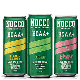 NOCCO BCAA+ 330ml 4-pack